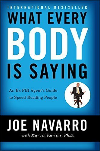 body language, what ever body is saying book