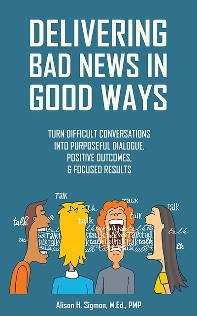 book delivering bad news in good ways