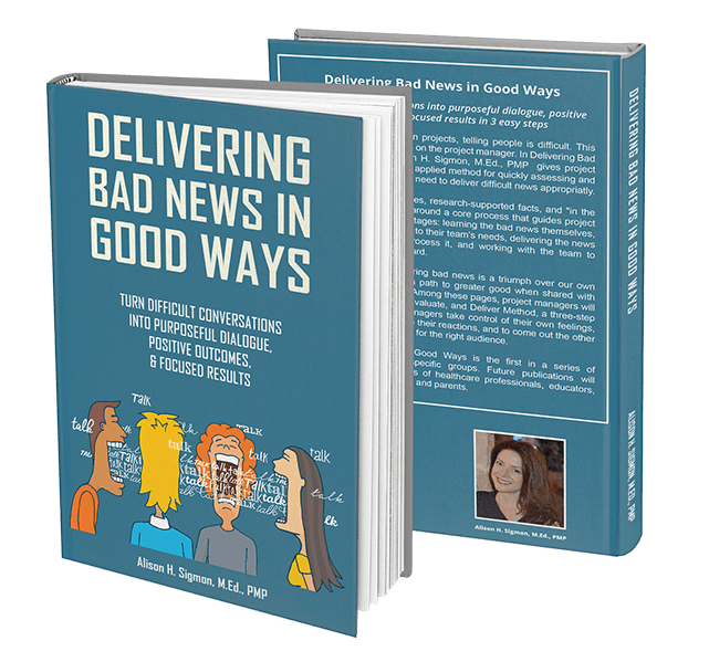 delivering bad news in good ways book front back