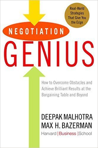 negotiation genius book